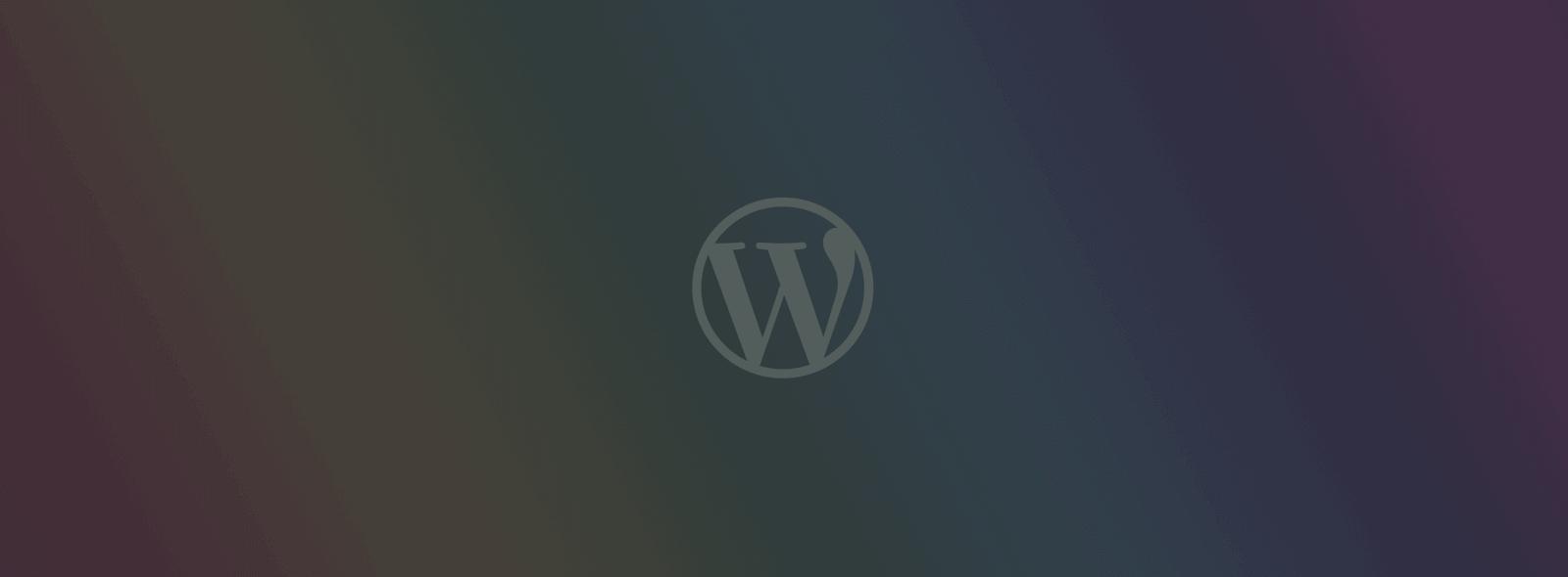 Consultoria na Administração do WordPress